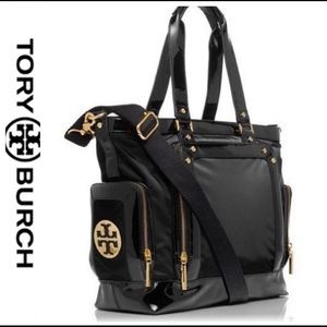 Tory Burch diaper bag with changing pad & dust bag
